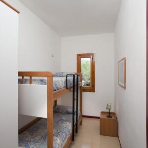 Camera con letti a castello Trilo e Duplex