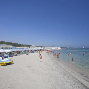 Spiaggia del Residence Campo Verde