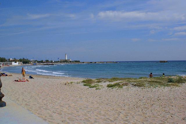 spiaggia di san cataldo a lecce